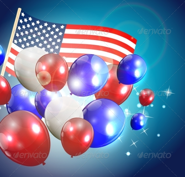 GraphicRiver Independence Day Poster Illustration 7909930
