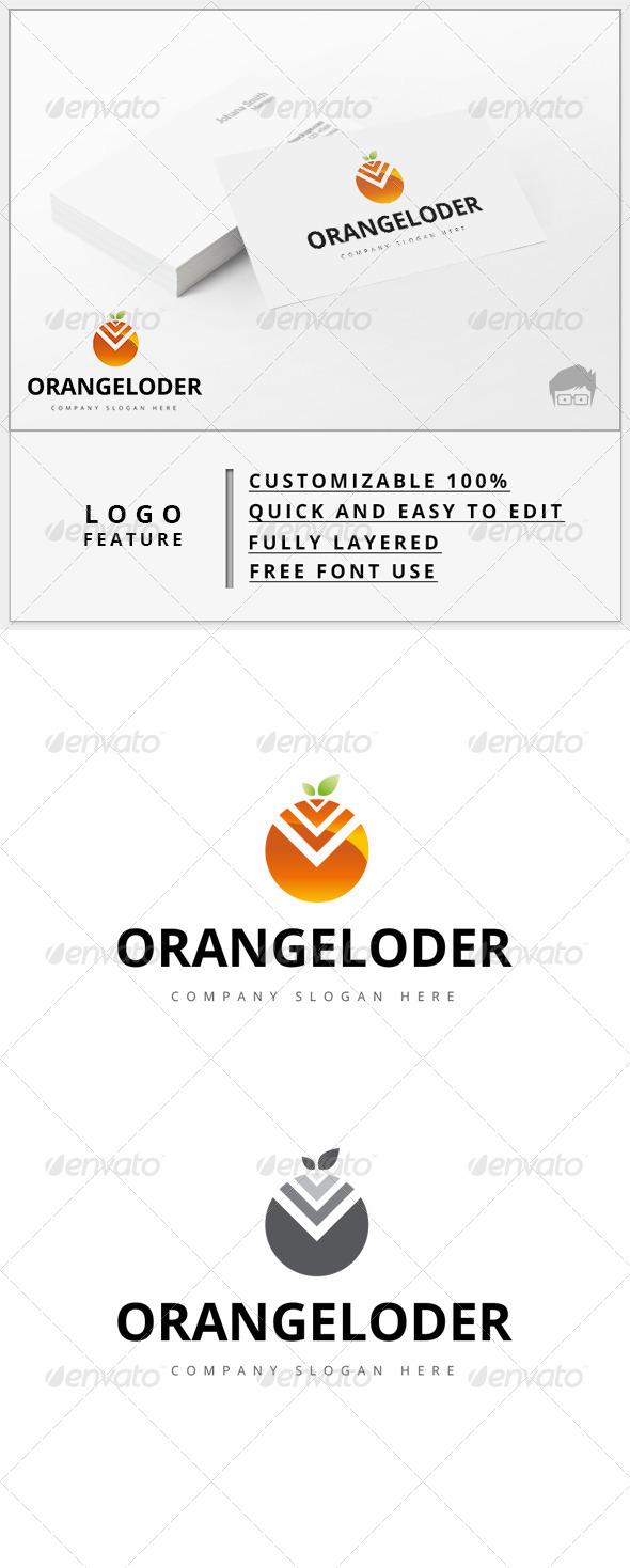 GraphicRiver Orangeloder Logo 7909953