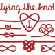 Tying the Knot Rope Hearts Set - GraphicRiver Item for Sale