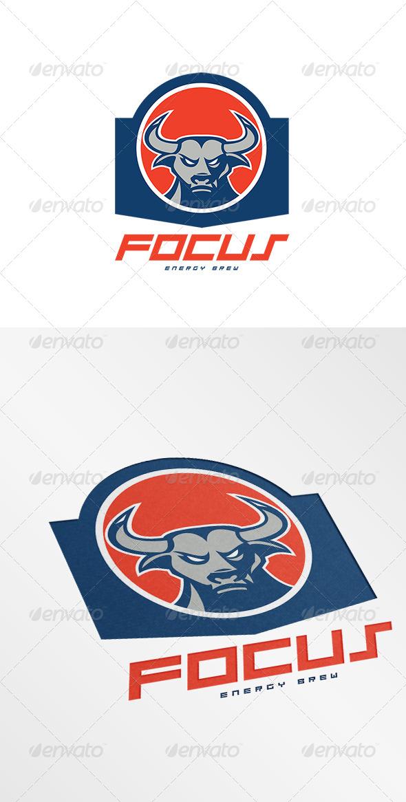 GraphicRiver Focus Energy Brew Logo 7910763