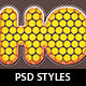 Glossy Polka Dot Photoshop Layer Styles - GraphicRiver Item for Sale