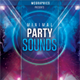 Minimal Party Sounds Flyer Template - GraphicRiver Item for Sale