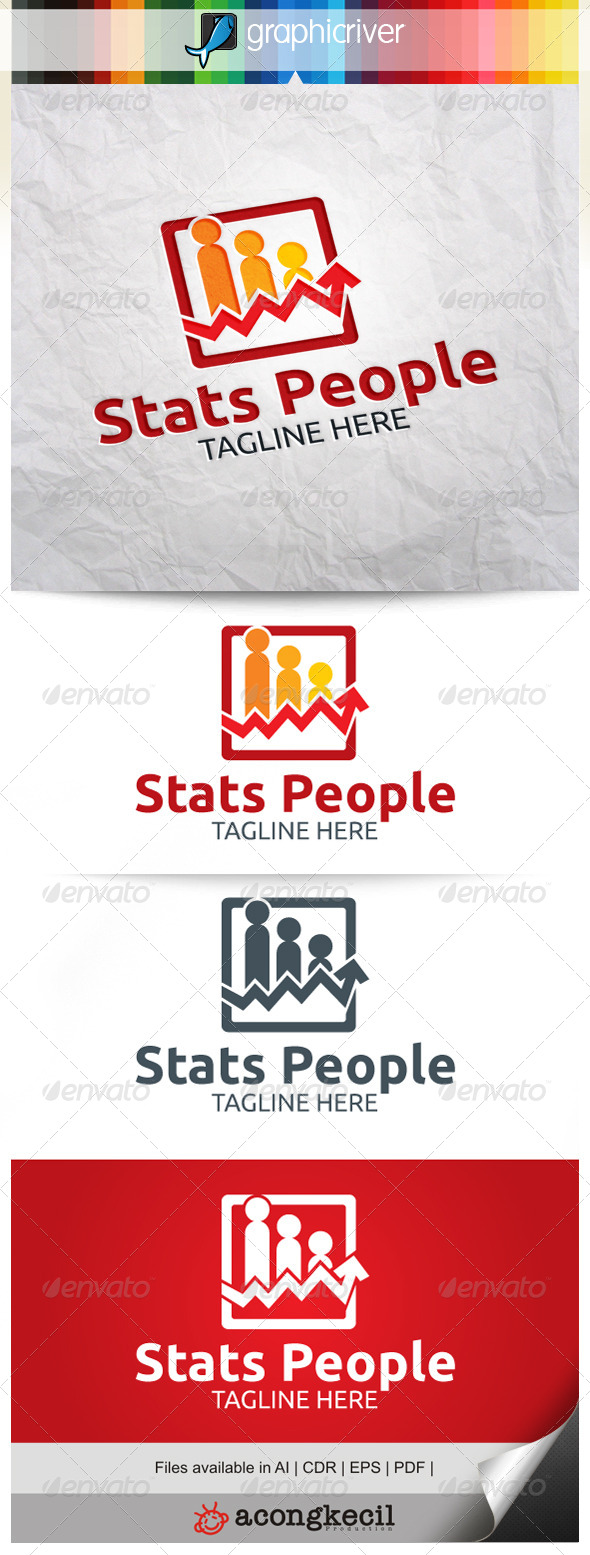 GraphicRiver Stats People V.5 7911180