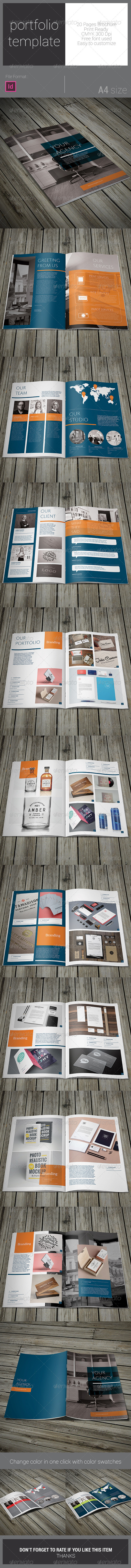 GraphicRiver Portfolio Brochure Template 7911259