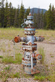 Oil gas industry wellhead flange gear locked shut - PhotoDune Item for Sale