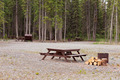 Camp ground campsites camping table firepits - PhotoDune Item for Sale