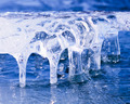 Frozen natural ice sculpture nature abstract art - PhotoDune Item for Sale