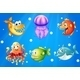 Sea with Creatures - GraphicRiver Item for Sale