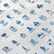 SEO & Internet Marketing Icons | Blue Versions 4 - GraphicRiver Item for Sale