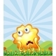 Hungry Monster at a Hilltop - GraphicRiver Item for Sale