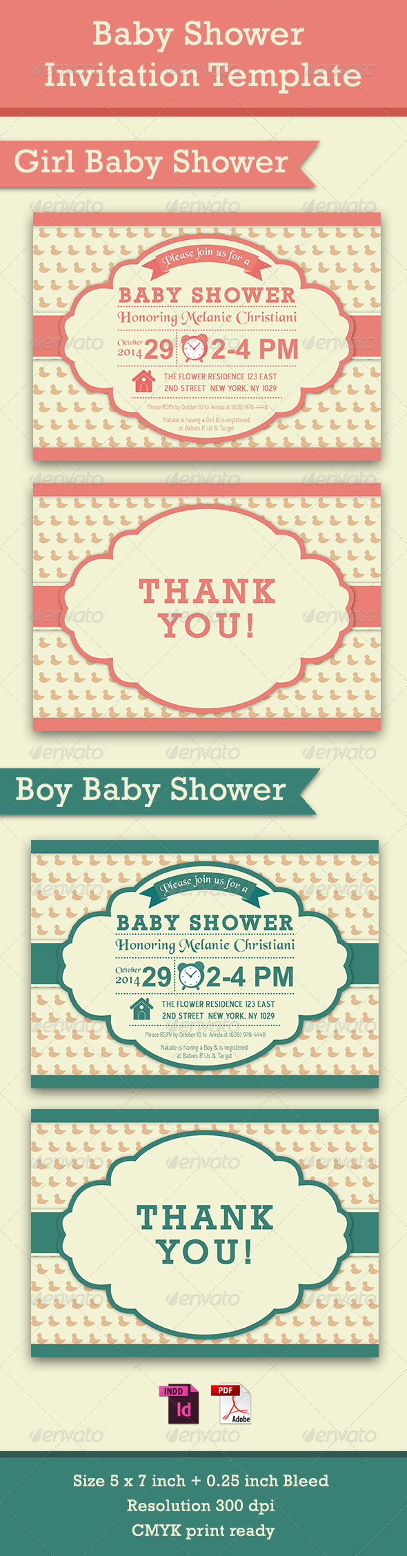 GraphicRiver Baby Shower Template Vol 5 7911860
