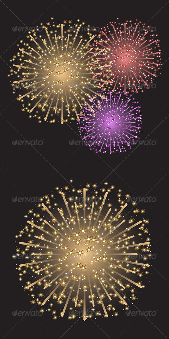 GraphicRiver Fireworks 7912002