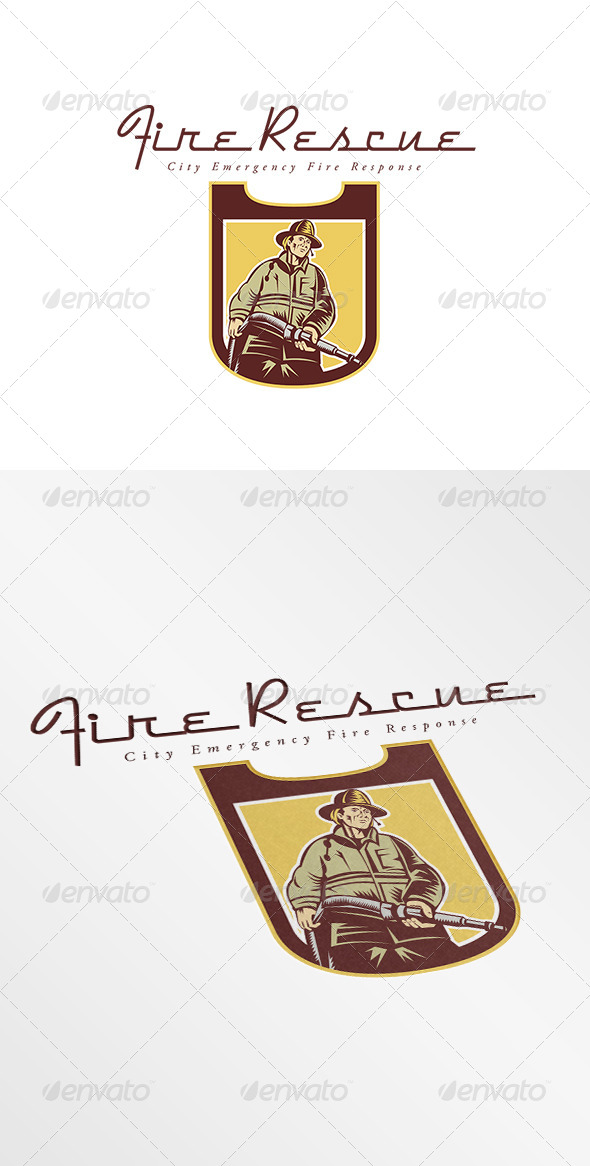 GraphicRiver City Fire Rescue and Emergency Response Logo 7912493