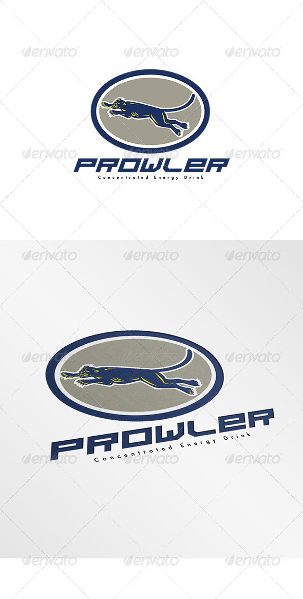 GraphicRiver Prowler Concentrated Energy Drink Logo 7912511