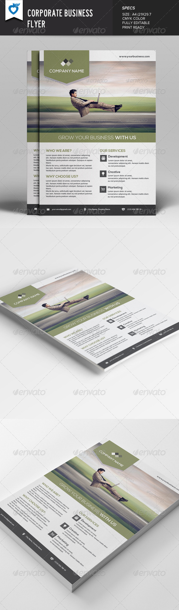 GraphicRiver Corporate Business Flyer v6 7912512