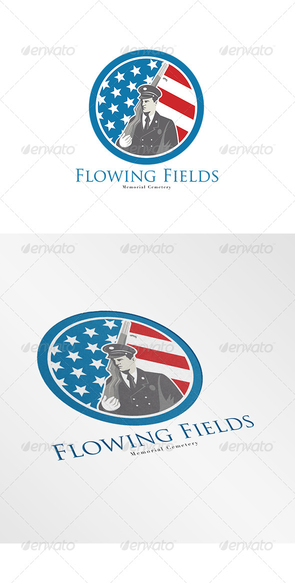 GraphicRiver Flowing Fields Memorial Logo 7912562