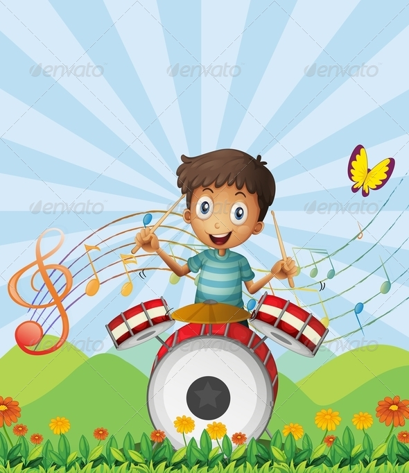 GraphicRiver A Little Drummer 7913064