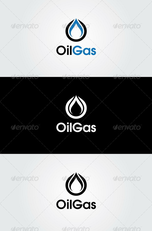 Oil Gas Logo Template