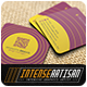 Square Business Card V.8 - GraphicRiver Item for Sale
