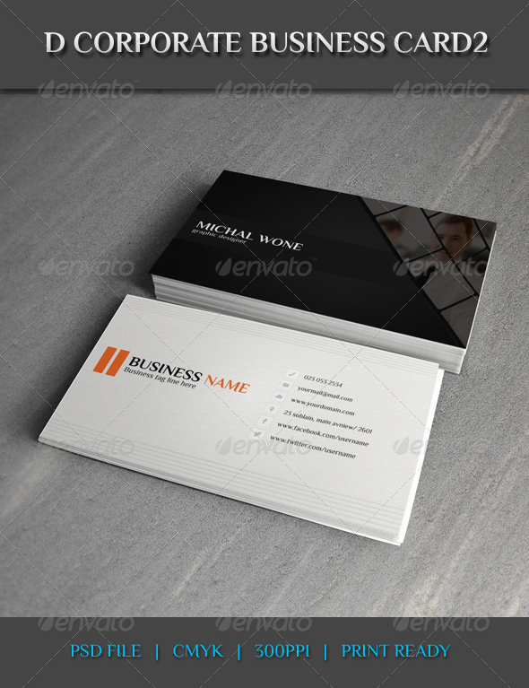 GraphicRiver D Corporate Business Card2 7914877