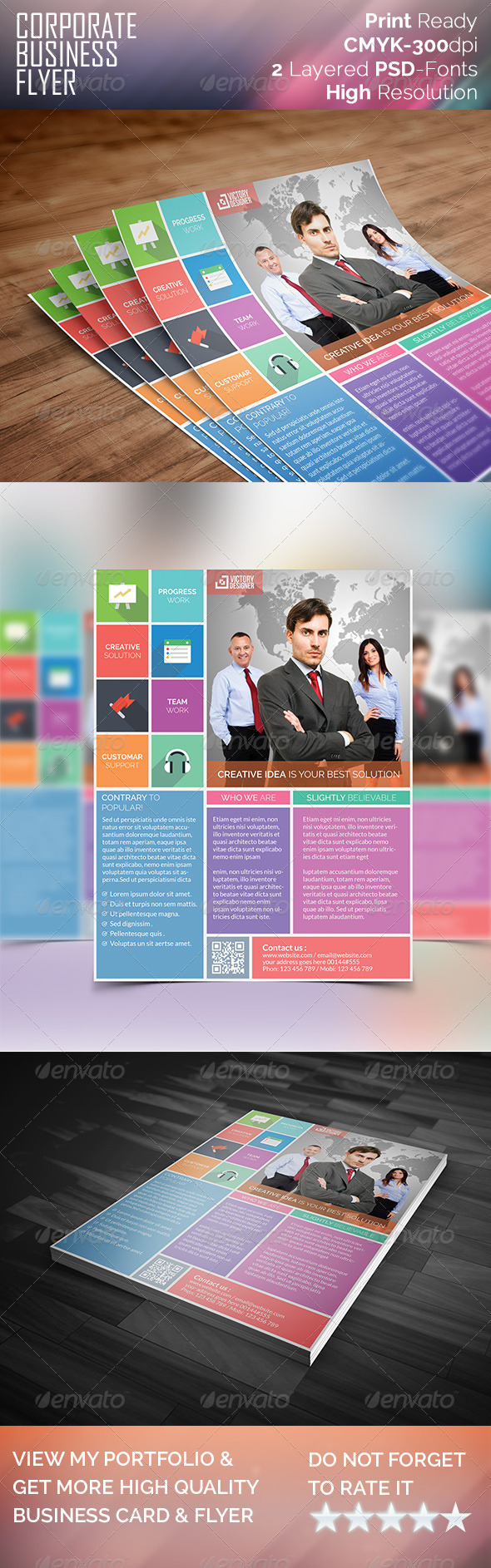 GraphicRiver Corporate Business Flyer 7914878