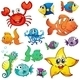 Different Sea Creatures - GraphicRiver Item for Sale
