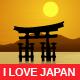I Love Japan - Three Japanese Landscapes