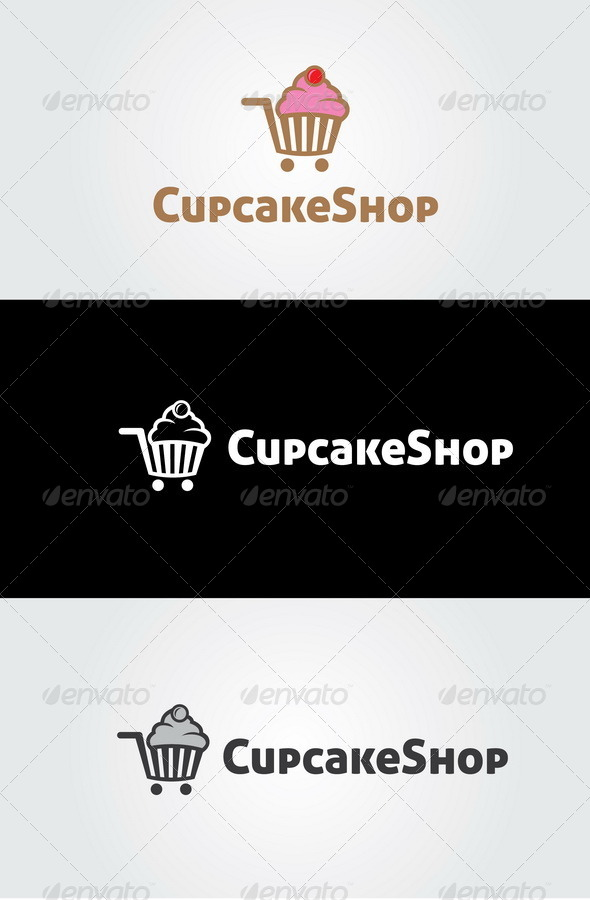 GraphicRiver Cupcake Shop Logo 7759212