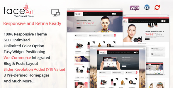 ThemeForest Face Art WooCommerce Responsive Theme 7650943