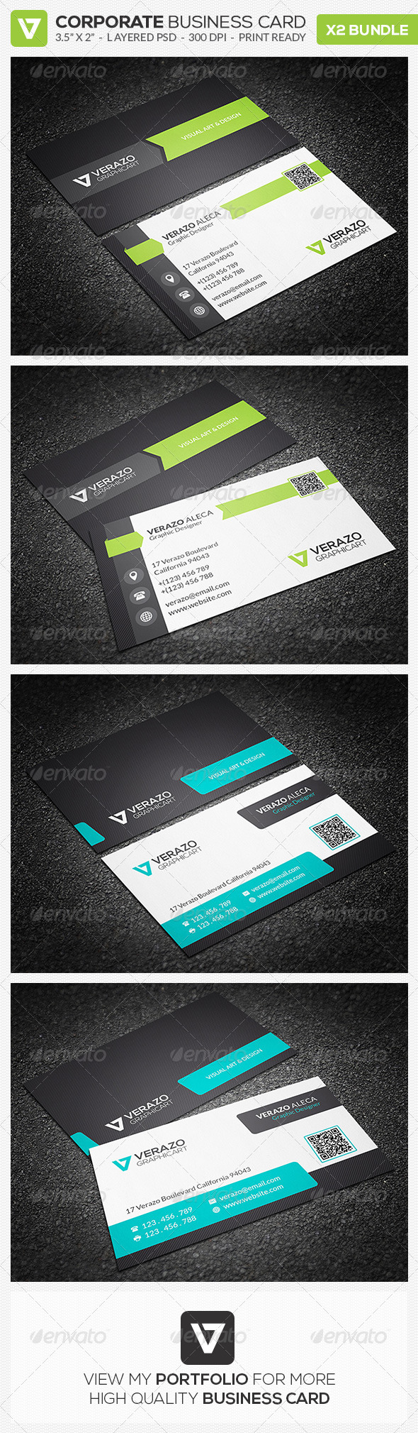 GraphicRiver Business Card Bundle 02 7915132