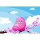 Pink Monster at the Branch of a Tree - GraphicRiver Item for Sale