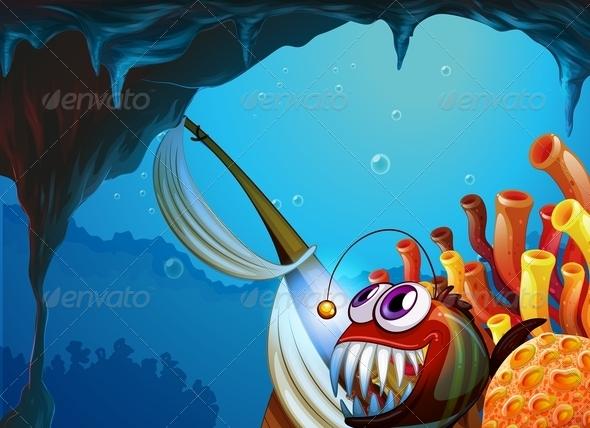 GraphicRiver A Cave Under the Sea 7915188