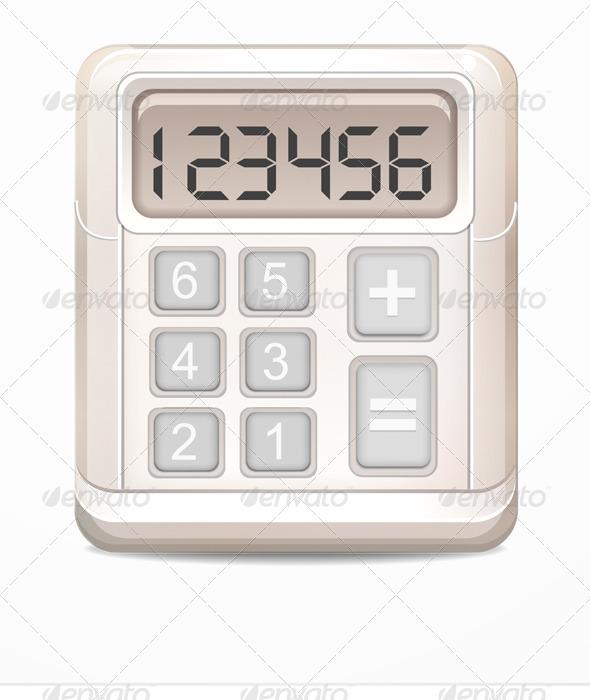 GraphicRiver Calculator Icon 7915190