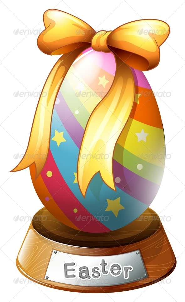 GraphicRiver An Easter Egg Trophy 7915236