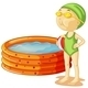 A Young Swimmer - GraphicRiver Item for Sale