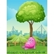 Monster Crying Under a Tree - GraphicRiver Item for Sale