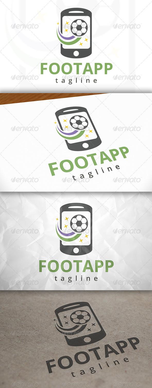 GraphicRiver Football App Logo 7915513