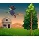 Witch at the Farm - GraphicRiver Item for Sale
