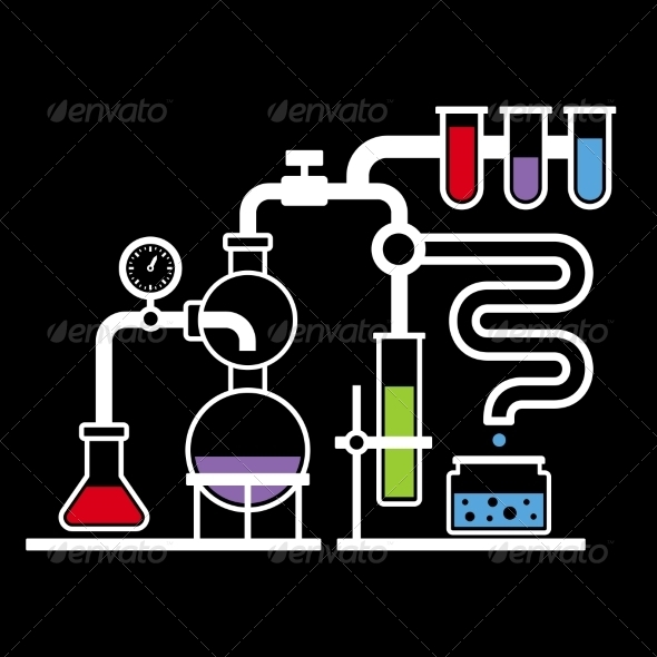 GraphicRiver Chemistry Laboratory Infographic Set 3 7915675