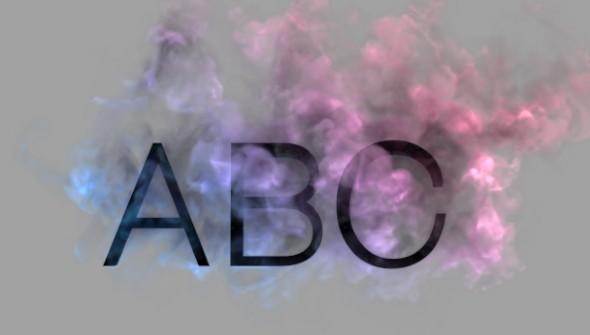 Smoke Letters Capitals By Xvcxvcxvc
