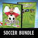 2 in 1 Soccer Match 2014 DVD Cover Bundle - GraphicRiver Item for Sale
