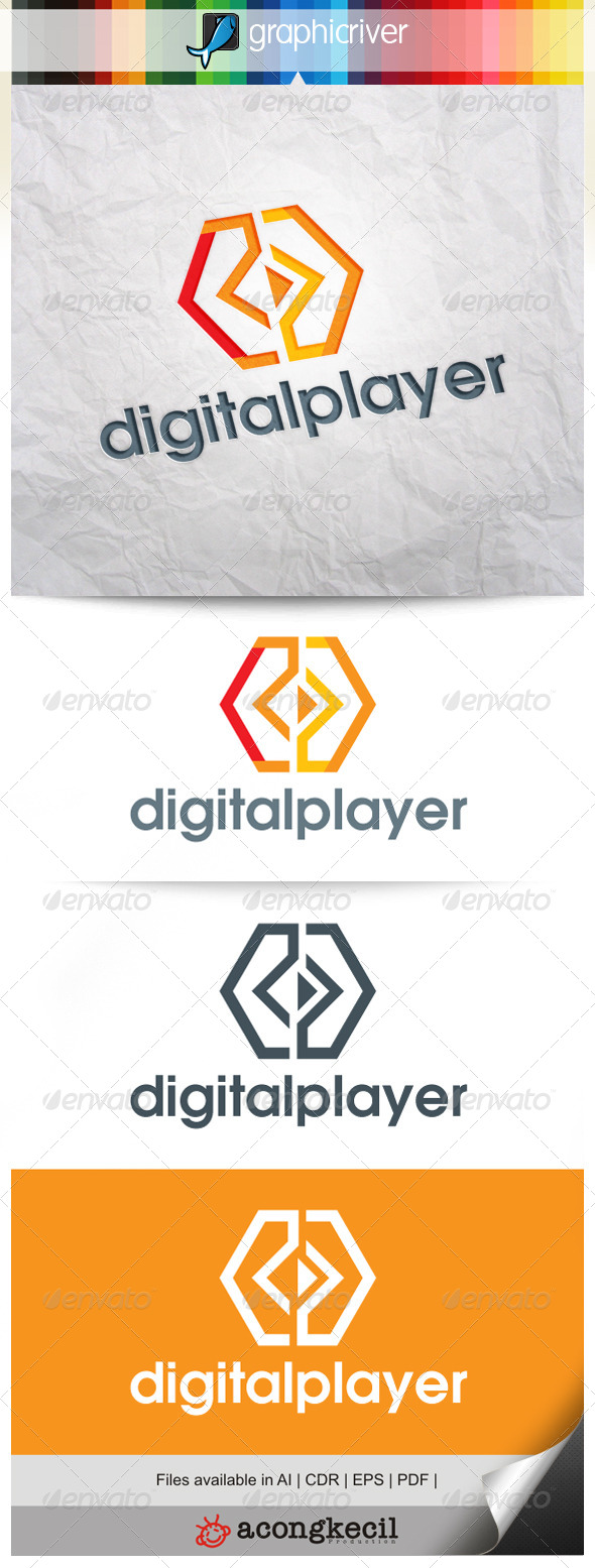 GraphicRiver Digital Player V.5 7916033