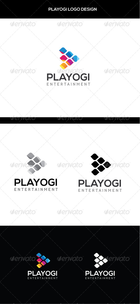 GraphicRiver Play Logo Template 7916248