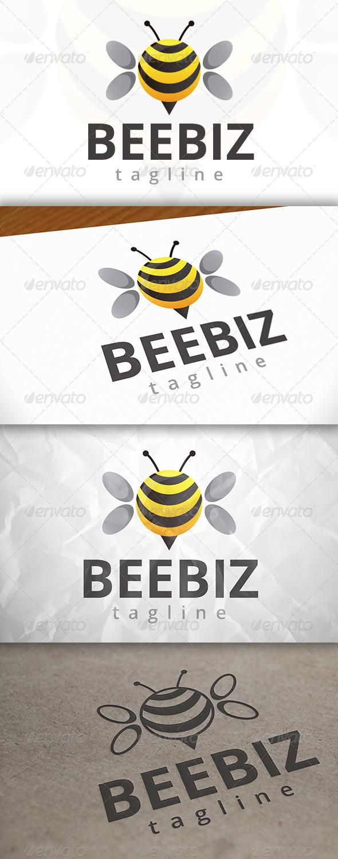 GraphicRiver Bee Ball Logo 7916562