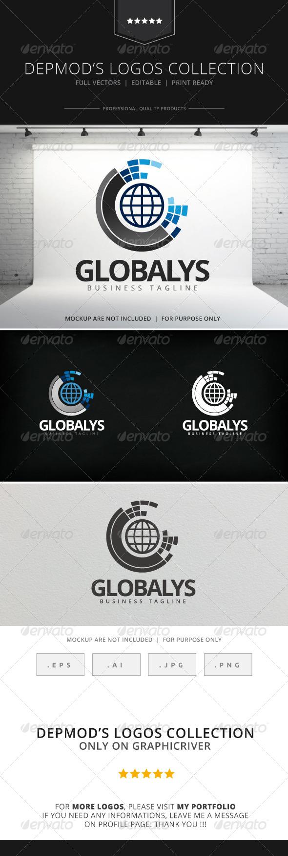 GraphicRiver Globalys Logo 7916605