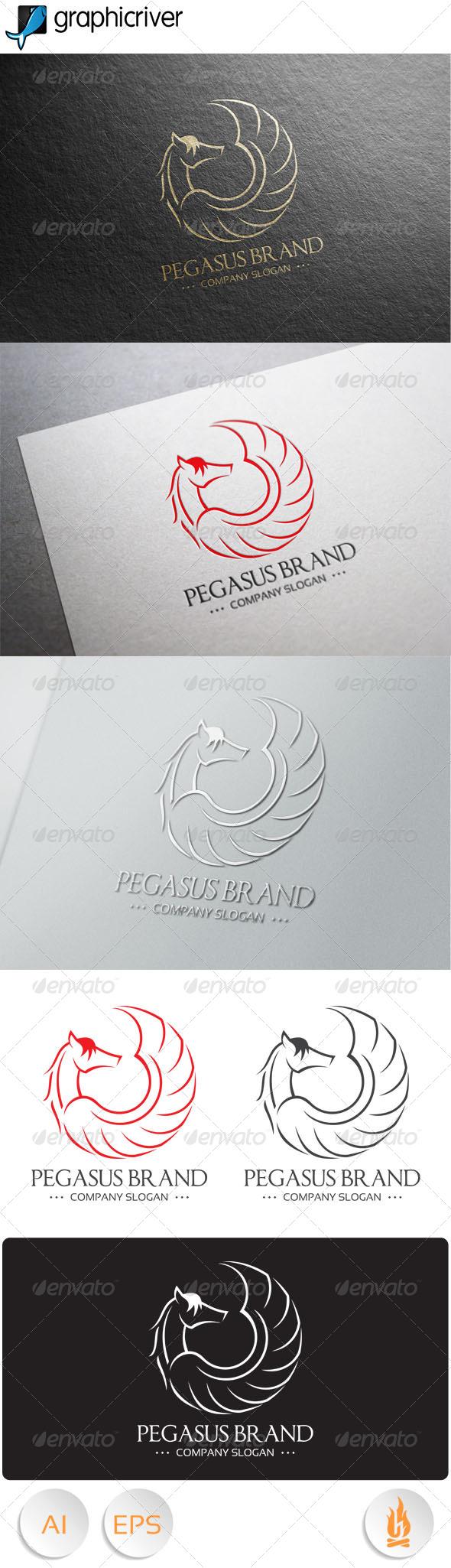 GraphicRiver Pegasus Logo 7916767