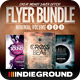 Minimal Flyer/Poster Bundle Vol. 1-3 - GraphicRiver Item for Sale