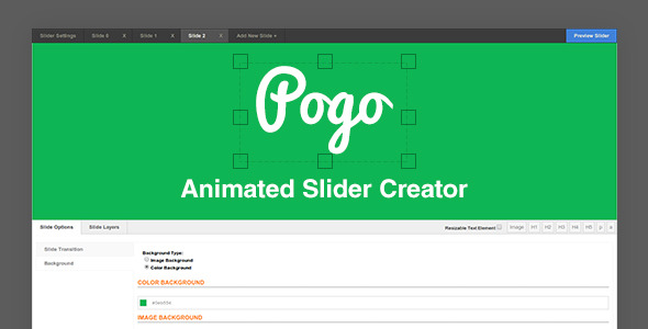 CodeCanyon Pogo Animated Slider Creator 7874378