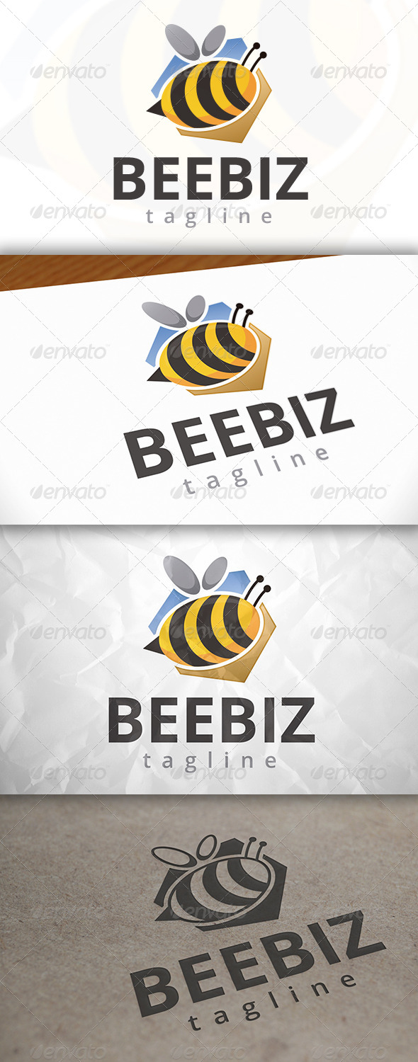 GraphicRiver Bee Studio Logo 7918639