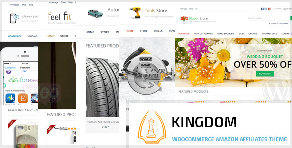 Kingdom Woocommerce Amazon Affiliates Theme
